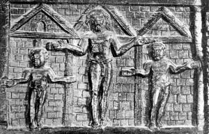 Sabina crucifixion
